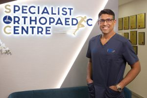 Dr Kannan at Specialist Orthopaedic Centre