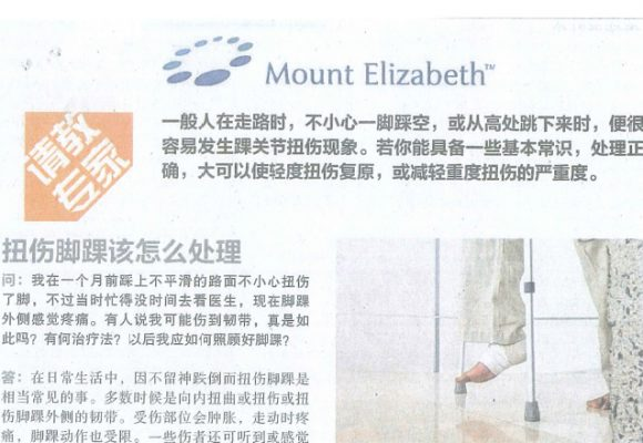 Chinese Article on Lianhe Zaobao