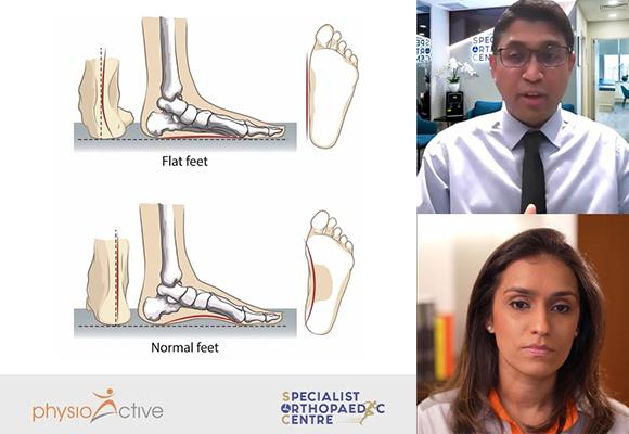 Singapore Surgeon Insight Series with Dr Kannan – Flat Feet