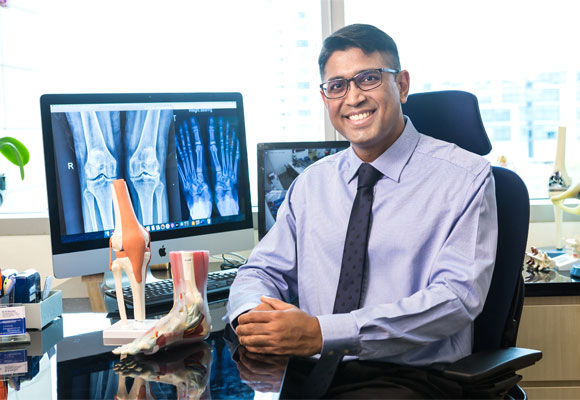 Ask Orthopaedic Surgeon, Dr. Kannan Kaliyaperumal anything!